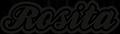 Cerveza Rosita Sticky Logo
