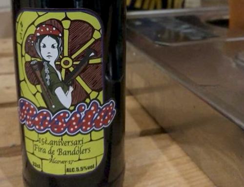 Cerveza Rosita en la 15 Edición de La Fira de Bandolers, Alcover