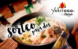Sorteo en Yakitoro
