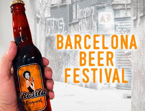 Rosita en Barcelona Beer Festival 2018